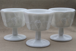 find your favorite milk glass patterns