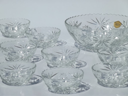 vintage pressed glass patterns