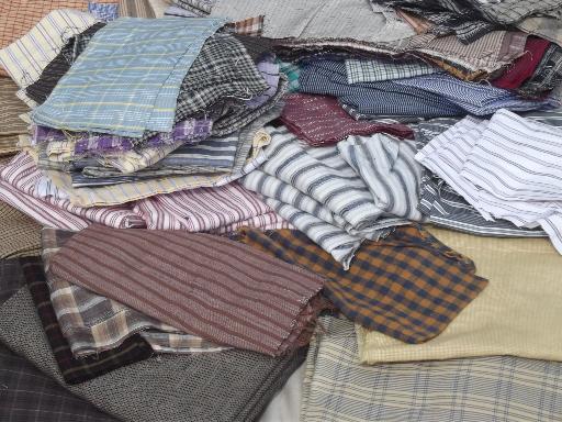 10 lbs cotton shirting fabric scraps, primitive country 'rag ... : primitive quilt fabric - Adamdwight.com