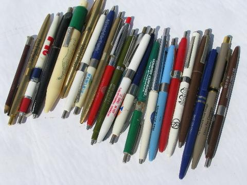 100 old vintage advertising pens pencils northern rural illinois 100 old vintage advertising pens pencils northern rural illinois towns thecheapjerseys Image collections
