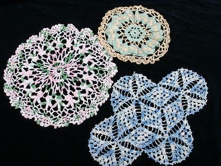 Crochet Doilies - Vintage Doily Crochet Patterns
