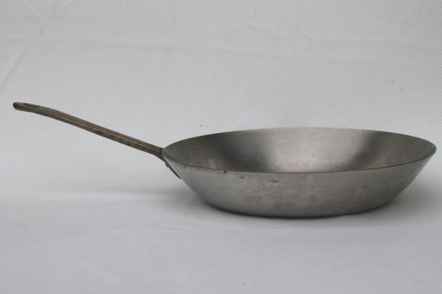 1801 Paul Revere Ware Saute Pan Brass Handle Stainless