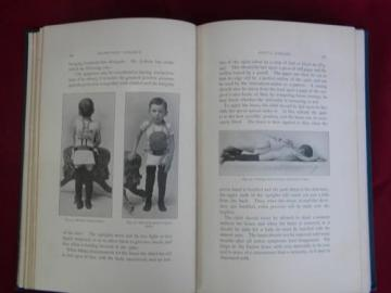 1890s antique doctor or surgeon's medical textbook - Orthopedic Surgery