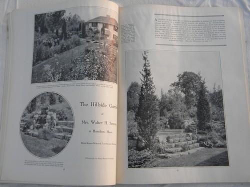 1920s bungalow vintage home builder garden magazines plans for Garden design 1920 s