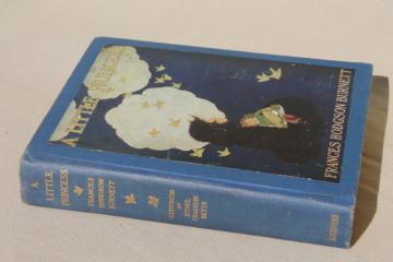 1930s vintage book w/ color plates, A Little Princess, Frances Hodgson Burnett