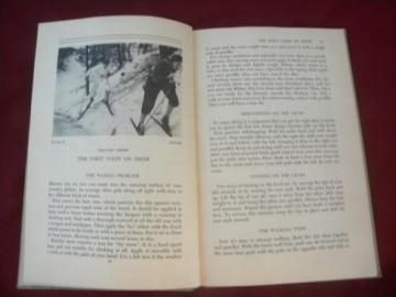 1930s vintage guide book on cross country & downhill skiing w/photos