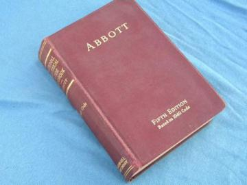 1940 Abbott electrician technical handbook 1940 electrical code