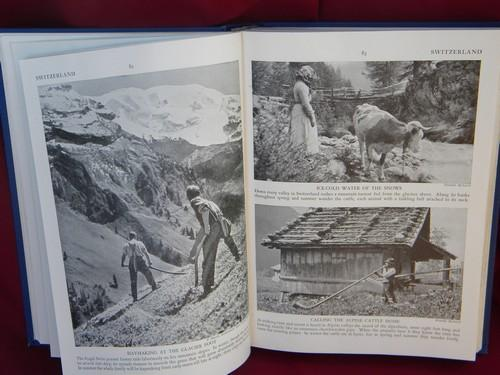 1940s Peoples of the World, WWII vintage illustrated anthropology book