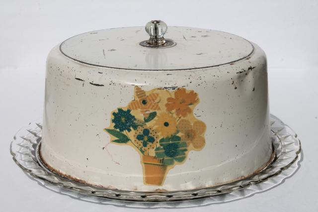Antique Cake Plate With Dome Delicious Recipe