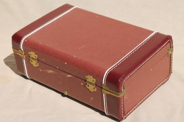 Vintage Small Suitcase | Luggage And Suitcases