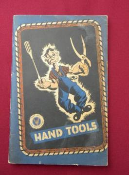 1943 WWII vintage GM booklet using hand tools Armed Forces training