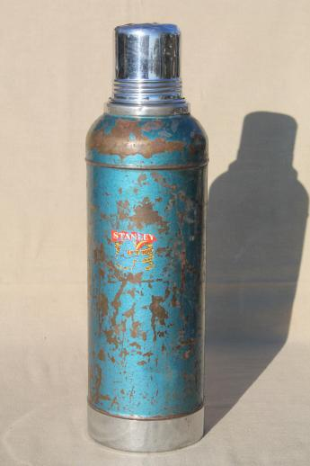 1950s Vintage Stanley Thermos Half Gallon Vacuum Bottle W
