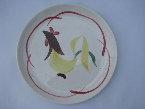 Blue Ridge Hand Painted Plates For Sale
