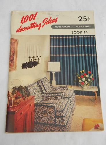 1950s vintage home sewing books/curtains/drapes/upholstered furniture etc