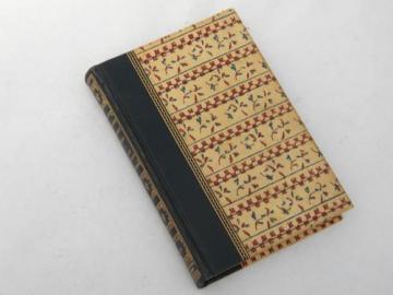 1951 Rand McNally pocket world atlas with full color & art binding
