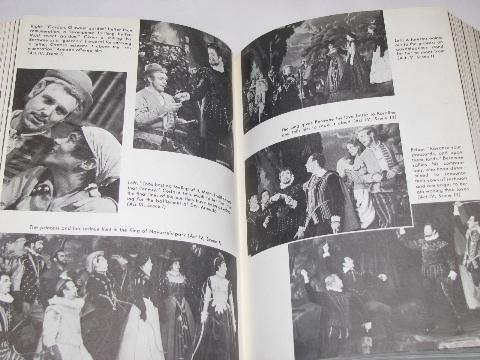 1958 Kitteredge Players Complete Works Shakespeare, play photos