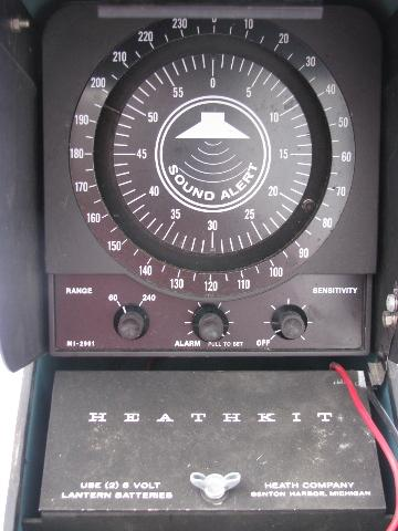 1980s Heathkit M1 2901 Fish Spotter Finder Vintage