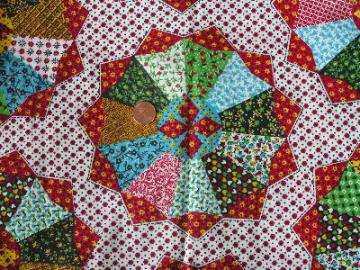 36'' wide patchwork quilt print cotton fabric
