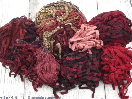 5 Lbs Wool Strips For Rug Hooking, Huge Lot Pre Cut Wool Fabric In Vintage  Colors