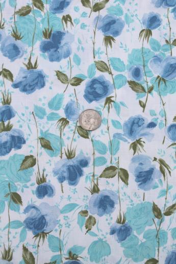 vintage floral dress fabric