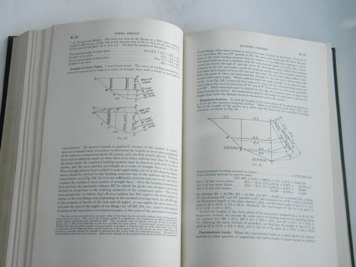 50s Civil engineering handbook bridge building, dams, roads and railways