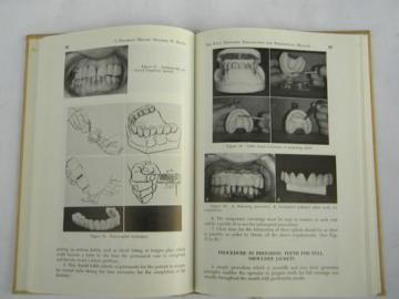 60s vintage dentistry technical journal crown and bridge dental materials