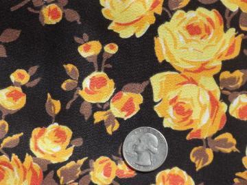 Vintage Fabric 60s 70s 80s