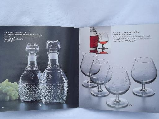 64 page princess house glassware catalog glass patterns for Princess housse