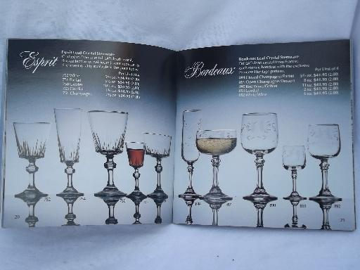 64 Page Princess House Glassware Catalog Glass Patterns