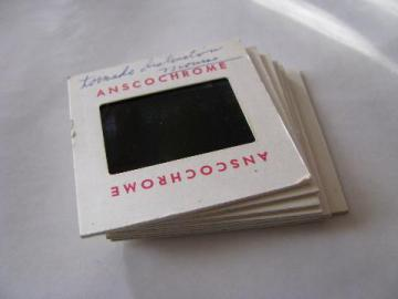 7 vintage 35mm photo slides, F2 tornado and storm damage from Palm Sunday April 11, 1965 tornado, Monroe, Wisconsin