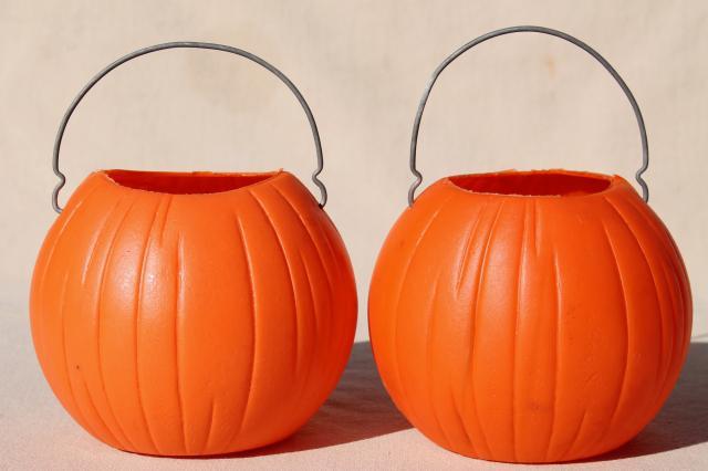 Halloween Treat Pails
