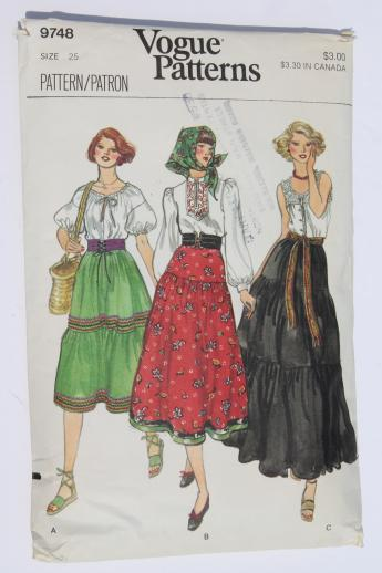 Gypsy Skirt Patterns 34