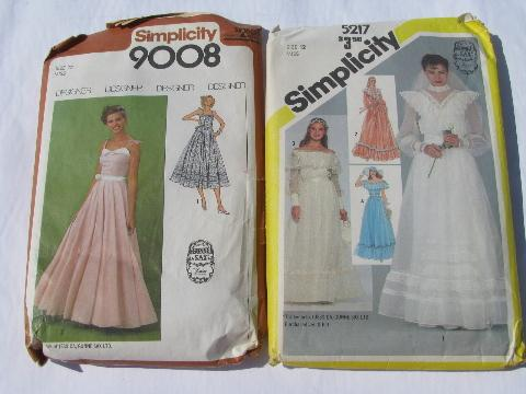 80s Jessica Mcclintock Gunne Sax Bridal Sewing Patterns Wedding