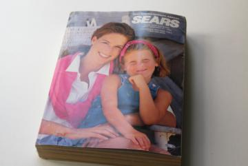 90s Sears catalog big book Spring Summer 1993 vintage electronics, fashion, home goods