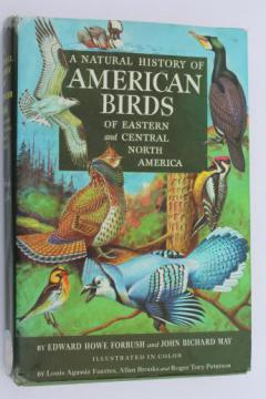 A Natural History of American Birds - Edward Howe Forbush & John Bichard May