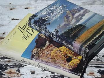 America the Beautiful / Scenic Wonders, vintage Reader's Digest photo books