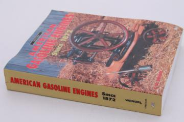 American Gasoline Engines Since 1872, makes & history w/ photos, collector's guide book