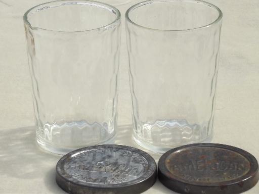 American Snuff Jars Vintage Glass Snuff Bottles W