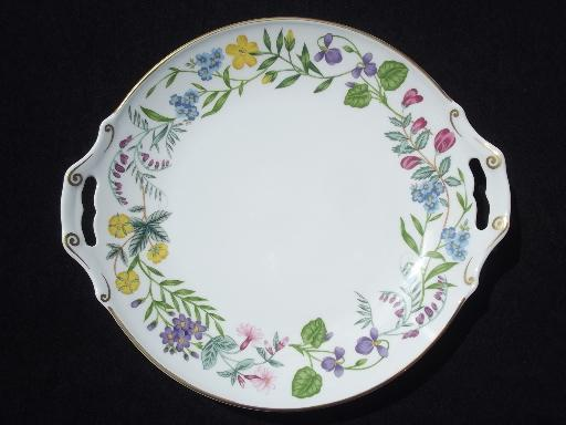 Arcadia Royal Worcester oven to table china under plate or handled round platter
