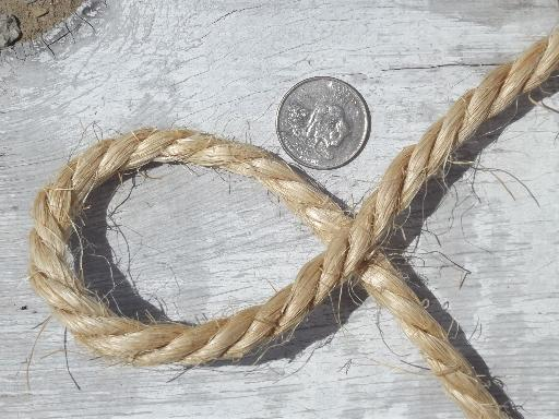 big ball of sisal rope heavy natural fiber twine or trunk tying cord - Sisal Rope