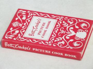 Betty Crocker's Picture Cook Book, vintage 1950 Betty Crocker cookbook