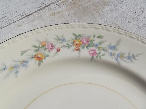 Cashmere Floral Vintage Homer Laughlin Georgian China