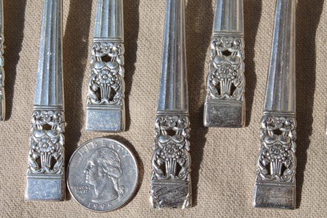 Coronation Vintage Oneida Community Silver Plate Flatware