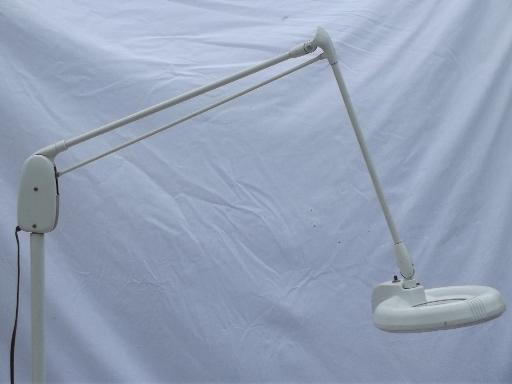 Dazor Magnifier Work Light M 1450 H Vintage Industrial