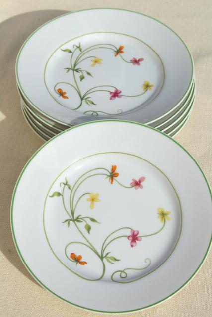 Denby Duchess china 70s vintage Portugal pottery bread \u0026 butter plates set of six & Duchess china 70s vintage Portugal pottery bread \u0026 butter plates ...