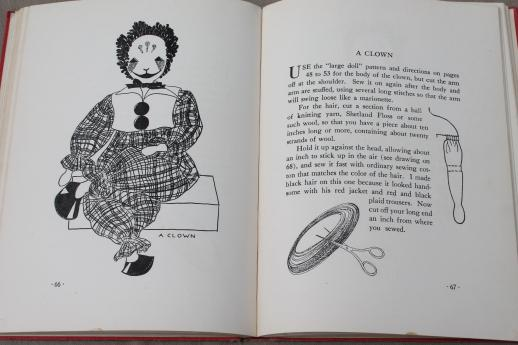 Dolls To Make For Fun Profit Vintage Sewing Patterns For Stuffed