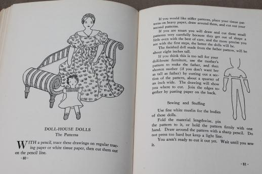 Dolls to Make for Fun & Profit, vintage sewing patterns for stuffed ...