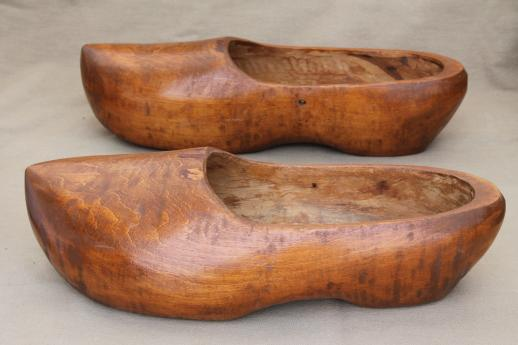 Used Wooden Shoes For Sale