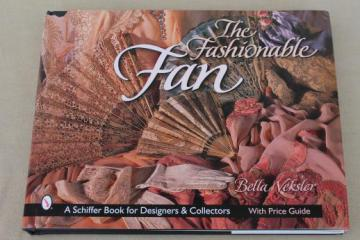 Fashionable Fan antique vintage ladies fans photos, Schiffer collector's guide book