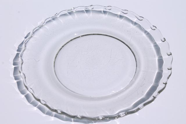 sc 1 st  Laurel Leaf Farm & Fostoria Century pattern salad plates set of 8 vintage elegant glass